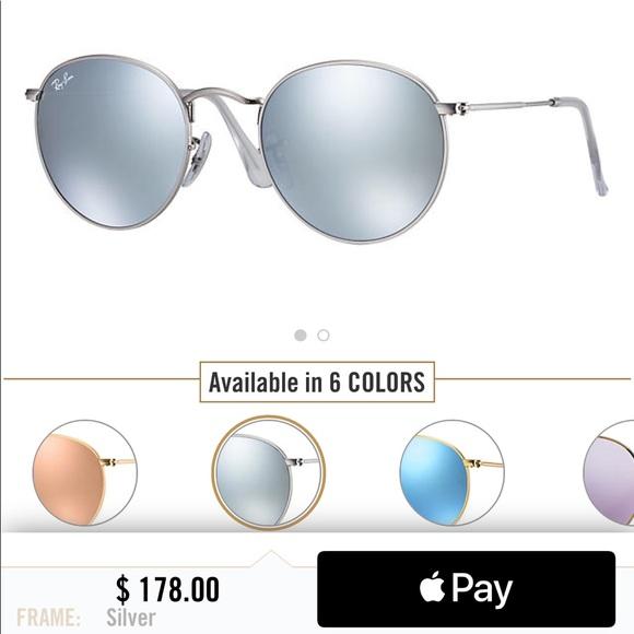 e18b34066a Ray-Ban Accessories - Silver Round Flash Lenses Ray Bans